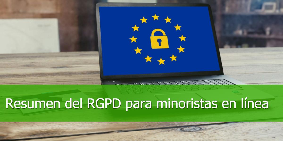 Resumen del RGPD para minoristas en línea